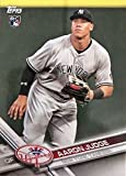 Aaron Judge 2017 Topps Limited Edition Mint Rookie Card #NYY-16 Found Exclusively in