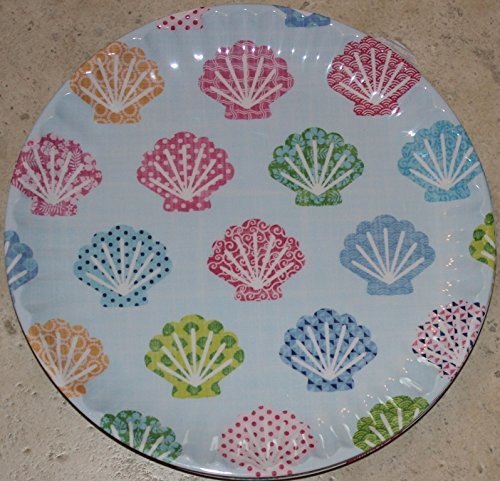 Cynthia Rowley Seashell 10-1/2' Dinner Plates - Set of 6