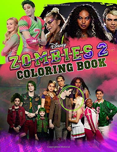 Zombies 2 Coloring Book Z O M B I E S 2 Coloring Books Based On Movies Danny Young 9798646241468 Amazon Com Books
