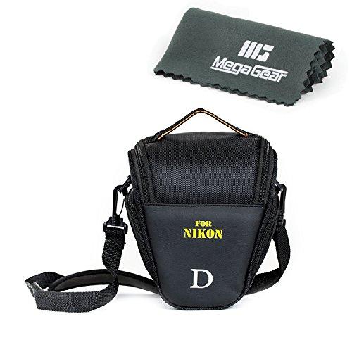 """MegaGear """"Ultra Light"""" Camera Case Bag for Nikon D3400, D5600, D7200, D7100 with 18-105 lens, D610 with 24-85 lens, D500 55-200mm Lens"""