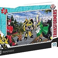 CA Games 35 Parça Transformers Frame Puzzle - 5017