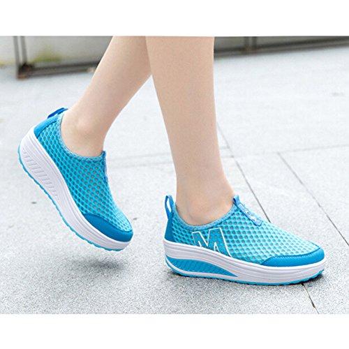 Padgene Semelle Compens Femme Chaussures Baskets C0OnwxC