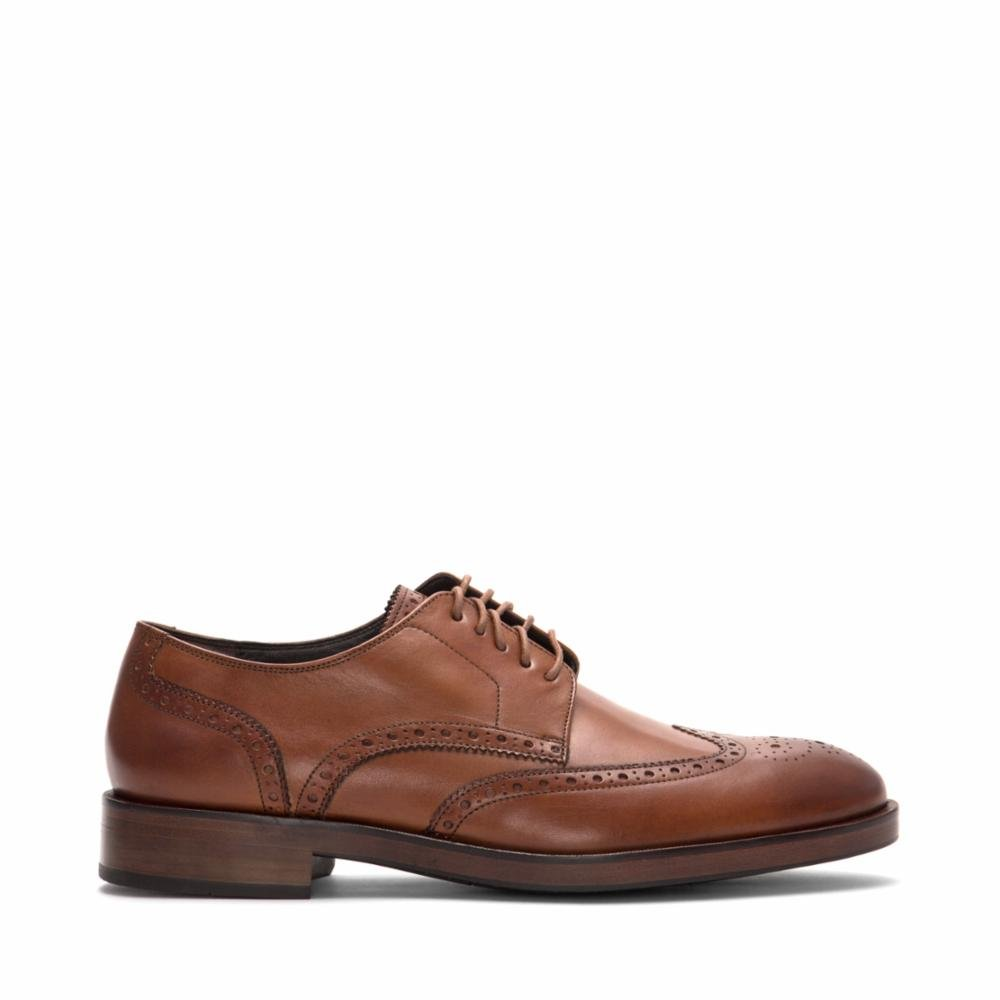 Cole Haan Mens Harrison Grand Short Wingtip Oxford 14 British Tan by Cole Haan (Image #5)