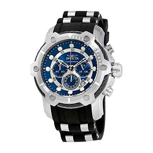 (Invicta Men's 26750 Bolt Quartz Chronograph Black; Dial color - Blue Dial Watch)