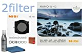NiSi V5 100mm Long Exposure Kit Includes - V5 Holder and Glass 4x4 Multi-coated IR ND1000 10 Stop Filter with 2filter cleaning kit!