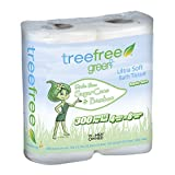 Green2 100% Tree Free 300-Sheet 2-Ply Bathroom Tissue, 96 Count