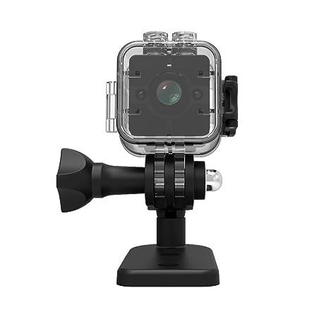 Mini cámara SQ12 deportes HD DV videocámara 1080P visión nocturna gran angular fov155 pequeña cámara de