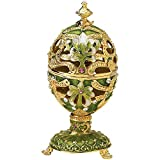 Design Toscano The Petroika Collection Romanov Style Enameled Egg: Elena