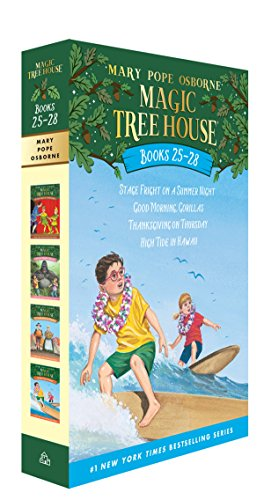 Magic Tree House Volumes 25-28 Boxed Set