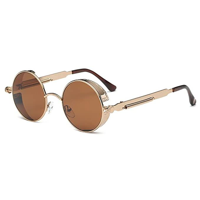 Steampunk Antique Copper Cyber Goggles Rave Goth Vintage Victorian Sonnenbrillen Inklusive GRATIS UV400 Sonnenbrille Objektiv dIp1fMMA