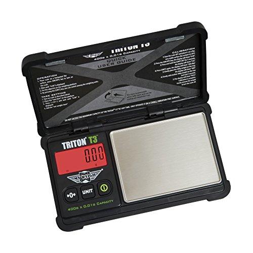 - My Weigh T3-400 Triton T3 400 Gram x 0.01 Digital Pocket Scale Black
