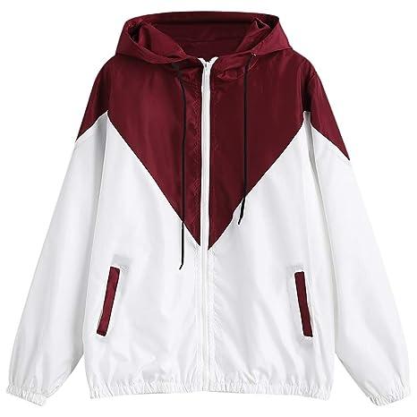 Hermosa chaqueta Con capucha, manga larga, color, chaqueta ...