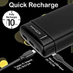 Portronics Power PRO 20K 20000 mAh Power Bank with Dual Output and Dual Input I Fast Charging I Power Delivery (Black)