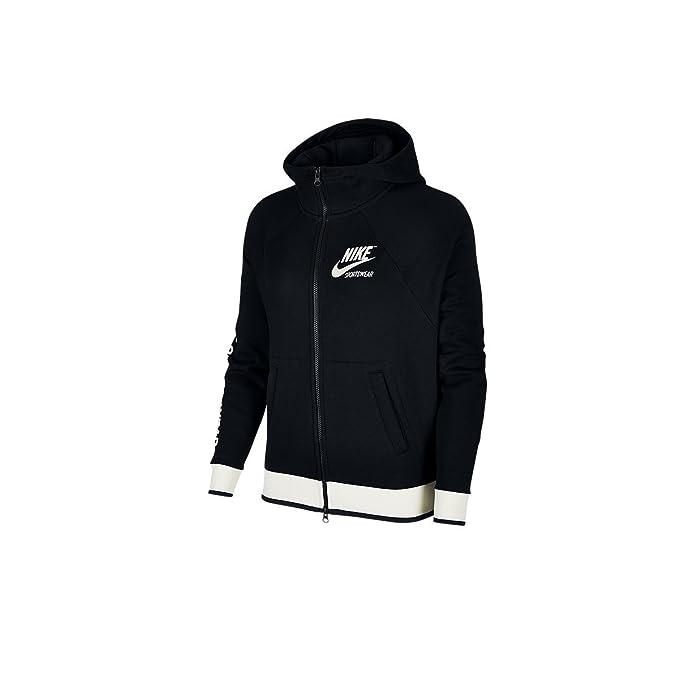 Schwarzem Sportswear Damenjacke Stoff 010 Aus Nike 893638 TFKJcl1