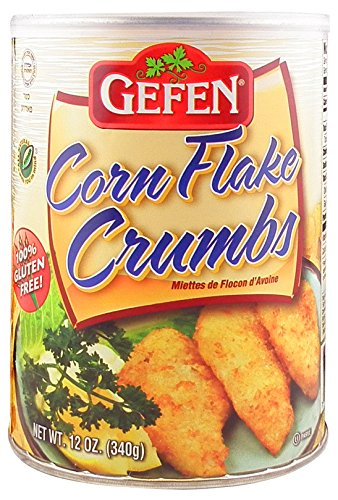 - Gefen Gluten Free Corn Flake Crumbs, 12oz (2 Resealable containers) - Total of 1.5 Pounds