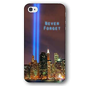 New York City Twin Towers September 11 Tribute Never Forget iPhone 4 and iPhone 4S Slim Phone Case