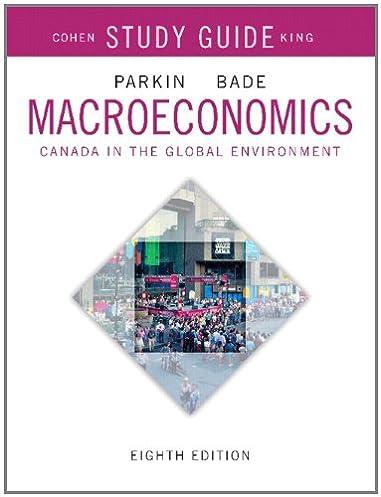 study guide for macroeconomics canada in the global environment rh amazon ca Economics Study Guide 6th Grade Principles of Economics Study Guide