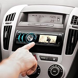 oneconcept mdd 150 bt autoradio car radio car hifi. Black Bedroom Furniture Sets. Home Design Ideas