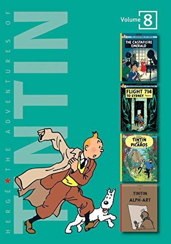 (The Adventures of Tintin: Volume 8 (Compact Editions): The Casafiore Emerald / Flight 714 to Syndney / Tintin and the Picaros / Tintin and Alph Art: ... (The Adventures of Tintin - Compact Editions) by Herg??. Georges Remi ( 2007 ) Hardcover)