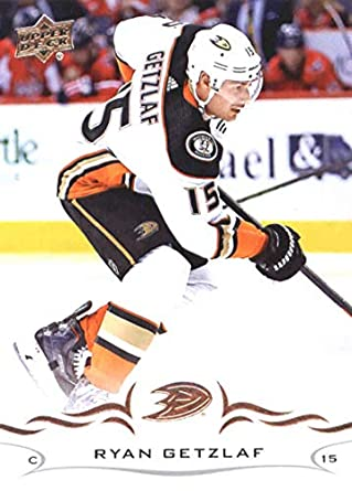 6aabc1551 2018-19 Upper Deck Hockey Card  2 Ryan Getzlaf Anaheim Ducks Official UD  Trading