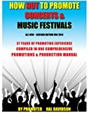 Professional Concert and Music Festival Manual with CD.