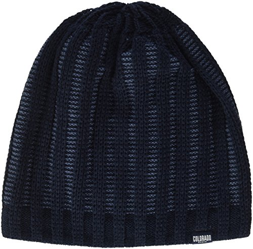 Colorado Denim Fabiano, Gorro de Punto para Hombre Azul (TOTAL ECLIPSE 5010)
