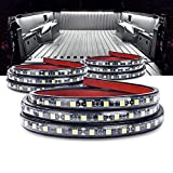 MICTUNING 3Pcs 60 Inch Truck Bed Lights - White