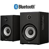 Rosewill BZ-201 2.0 Channel Bluetooth Speaker System (Black)