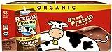 Horizon Organic Low Fat Organic Milk Box Plus DHA Omega-3, Chocolate, 8 Ounce (Pack of 18)