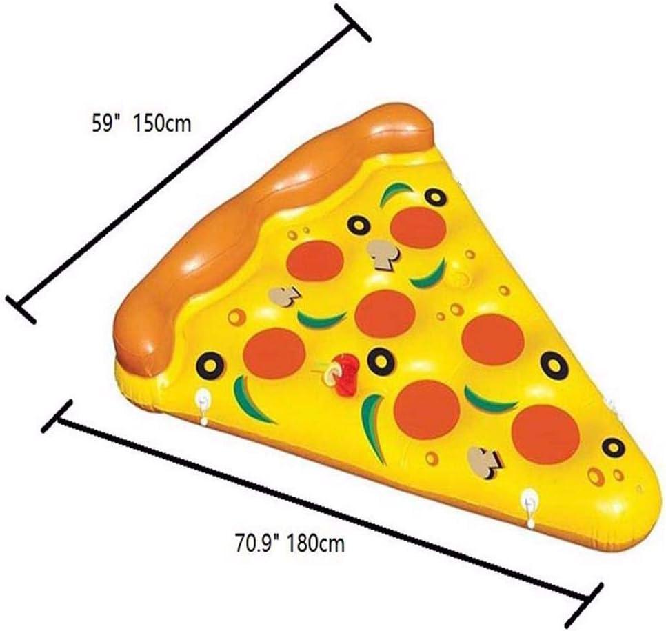 OGAWOO Piscina Inflable Flotador Pizza Piscina Flotadores Balsa ...