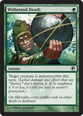 Magic Gathering Withstand Death Mirrodin product image