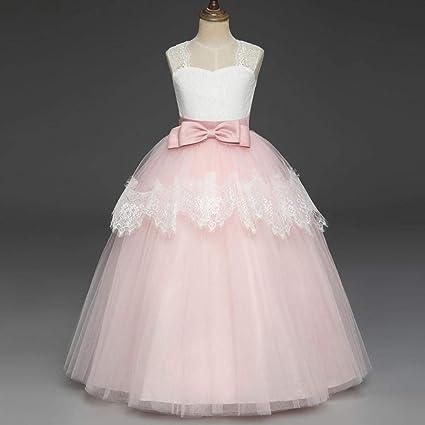 💜 Vestido de Fiesta Niña, Vestido sin Mangas del tutú del Vestido Formal de la Princesa del Bowknot de los niños Absolute: Amazon.es: Ropa y accesorios