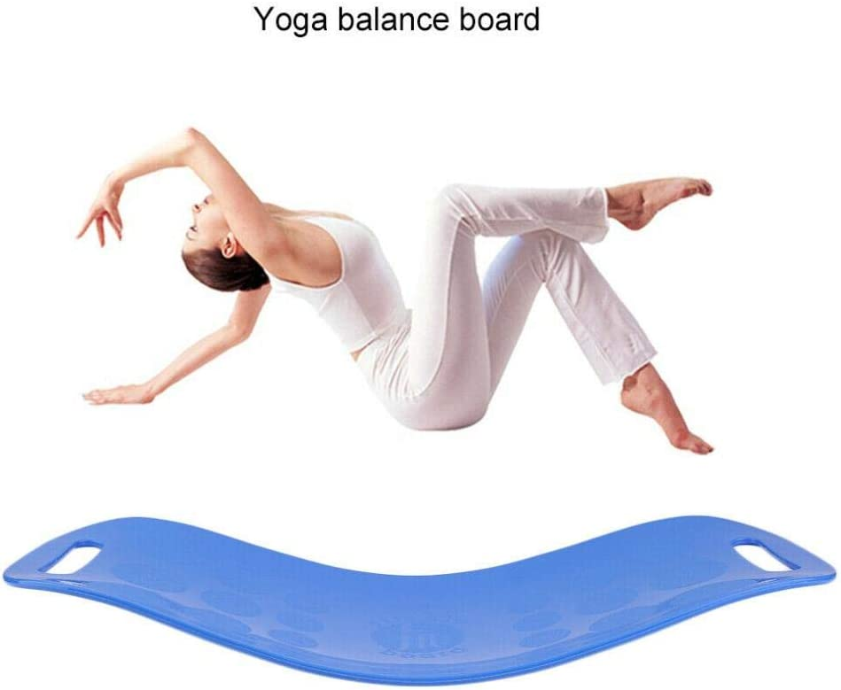 Yoga Twisting Fitness Balance Board Fitness Balance Board Simple Core Home Pilates Workout for Abdominal Muscles Legs Balance Fitness Yoga Fit Board,1 Balance Board