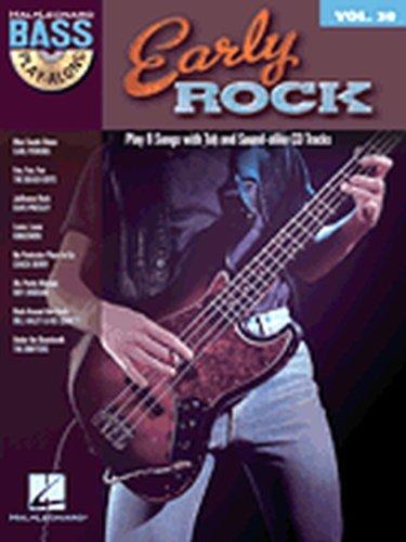 Hal Leonard Early Rock - Bass Play-Along Series Volume 30 Book/CD