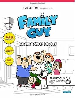 Family Guy: The Coloring Book: Titan Books: 9781785655135: Amazon ...