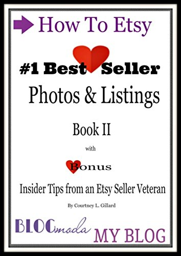 Discount How Etsy: Photos & Listings Book