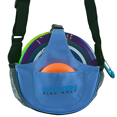Arctic Blue Slingshot Disc Golf Bag by Driven (bag only, discs sold seperately) ()