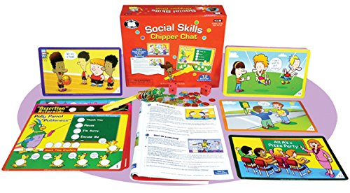 Super Duper Publications Social Skills Chipper Chat Magnetic Game Educational Learning Resource for Children -