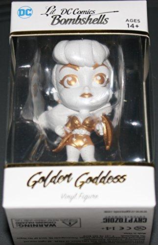 2017 DC Comics Bombshells Trading Cards Vinyl Figure Lil Bombshells Golden Goddess Variant Wonder (Goddess Shell)