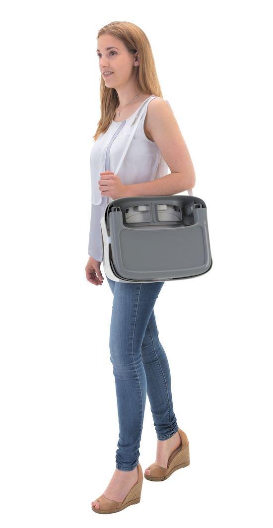 Badabulle Comfort Feeding Booster Seat, Grey/Patterns BABYMOOV UK LTD B009008