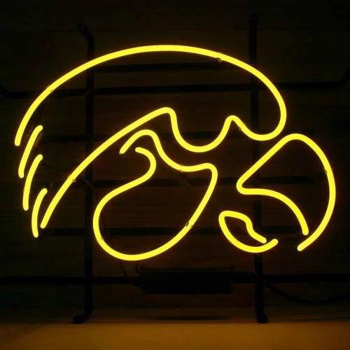 Neon Bar Lights Amazon: Hawkeyes Neon Sign, Iowa Hawkeyes Neon Sign, Hawkeyes Neon