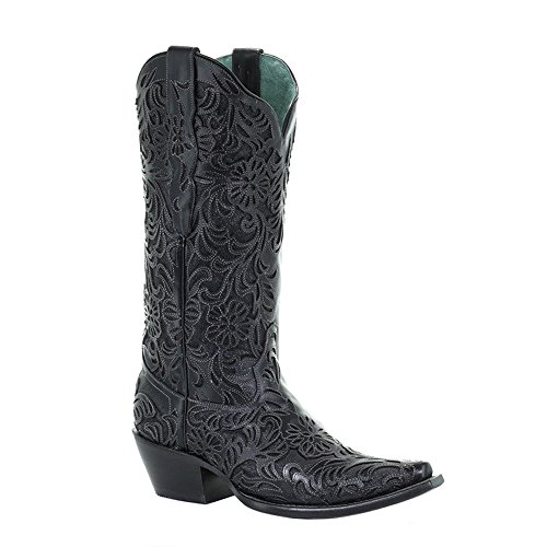 Corral Boots Women's G1417 Black 7.5 B US