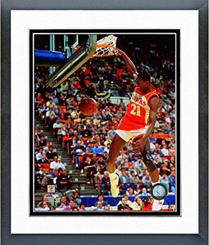 lanta Hawks 1986 Action Photo (Size: 12.5