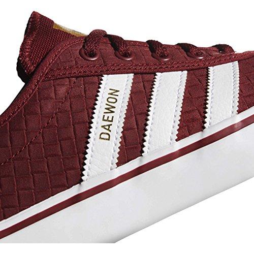 ease gold Para White De Adidas Met Hombre Rojo ftwr Skateboarding collegiate Zapatillas Burgundy Adi U5H5qwT