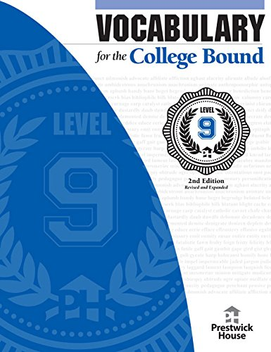 Vocabulary For The College Bound Level 9 2nd Edition James