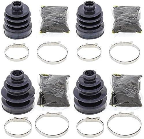 Complete Front Inner /& Outer CV Boot Repair Kit for Honda TRX350FE 2006