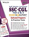 Wiley's SSC - CGL Tier 2 & 3 Exam Goalpost, Solved Papers and Practice Tests