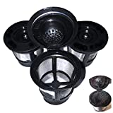 eKoi 3 Pack Universal Fit Reusable Stainless Steel Mesh Filter K Cups for Keurig 1.0 Brewers Home Single Solo Cup Brewing Systems