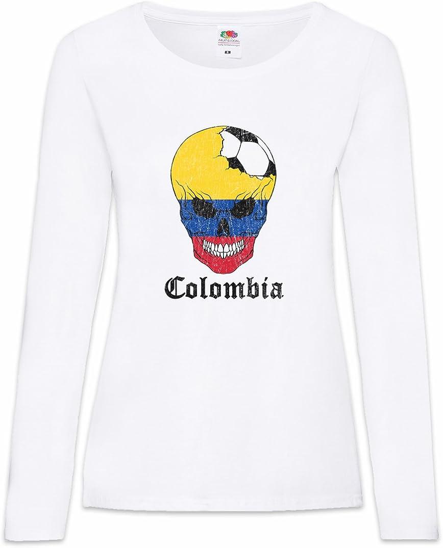Urban Backwoods Colombia Football Comet Women T-Shirt Mujer Camiseta de Manga Larga: Amazon.es: Ropa y accesorios