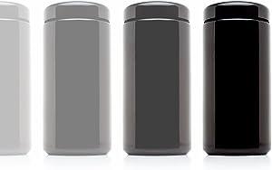 Infinity Jars 1 Liter (34 fl oz) 10-Pack Tall Extra Large Black Ultraviolet Glass Wide Mouth Screw Top Jar